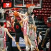 Aztecs Dominate Rebels in Final Home Game of the Season