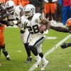 Jacobs Carries Raiders Out Of 'The Land': Raiders Defeat Browns 16-6.