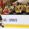 Smith's Hat Trick Leads Knights Past Blues