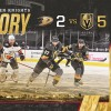 Strong Third Period Lifts Golden Knights past Ducks in Season Opener