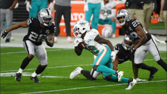 Raiders Knock Off Dolphins in Another Crazy Overtime Game