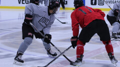 Rebel Hockey Prepare for Home Opener with an Inter-Squad Scrimmage