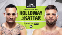 UFC Fight Night: Max Holloway vs. Calvin Kattar
