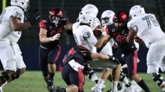 UNLV Rebels Take a Hard Hit from The SDSU Aztecs During First Game of the Season Losing 34-6.