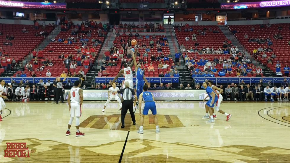 The Mountain West Conference Tournament Is Underway