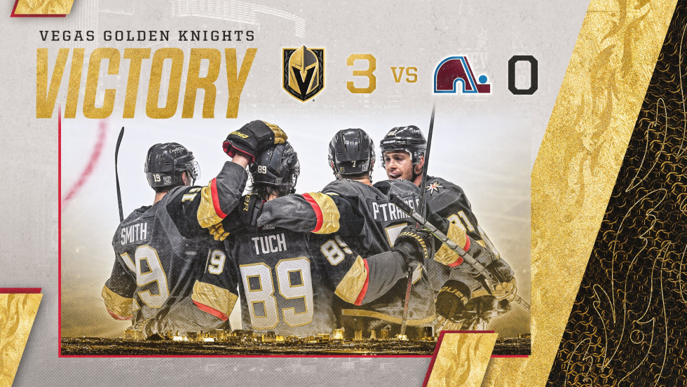 Fleury, Tuch Lead Vegas Past the Avalanche
