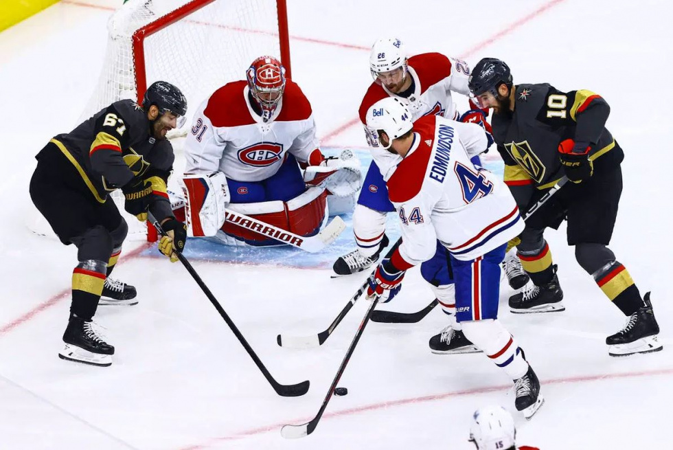 Poor Start Dooms the Golden Knights in Game Two Loss to Habs