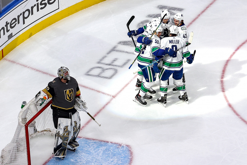 Canucks Rebound in Game Two to Even Series at One