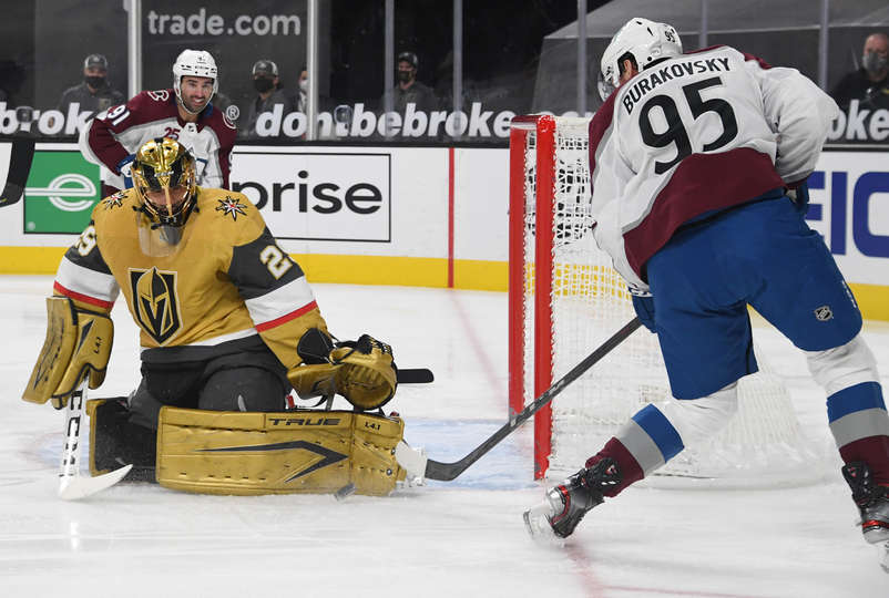 Fleury Blanks the Avs in First of Four Straight Meetings