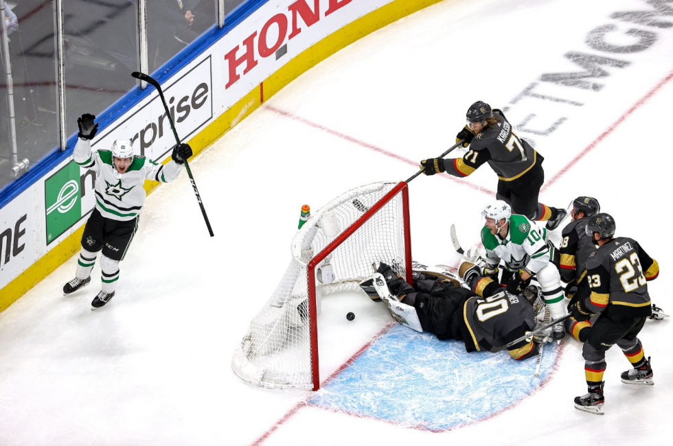 Golden Knights Eliminated in 5 Games by Dallas Stars