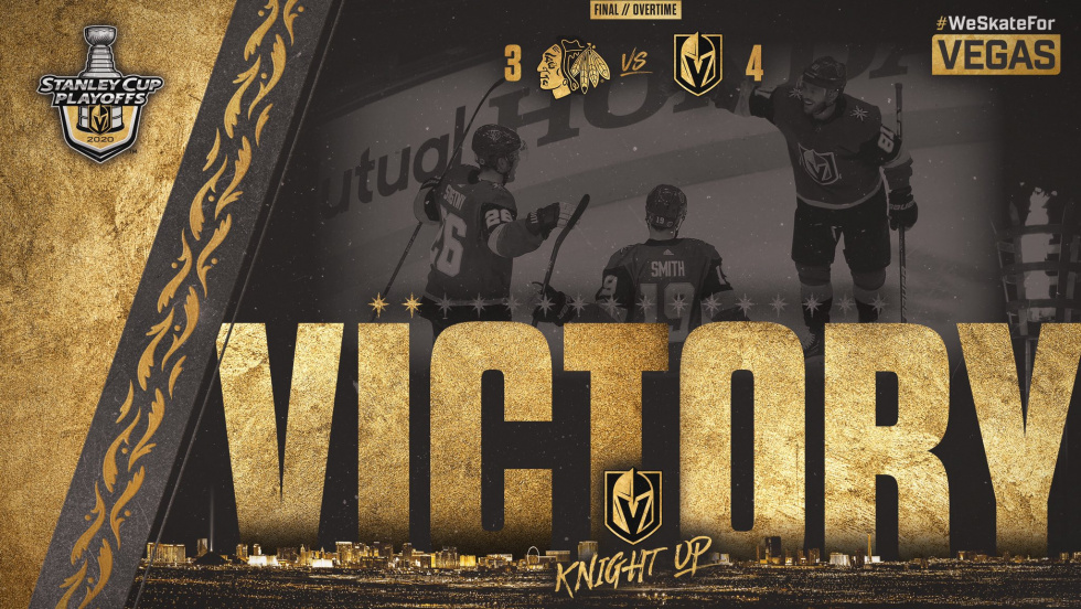 Golden Knights Escape Second Period Woes to Take 2-0 Series Lead