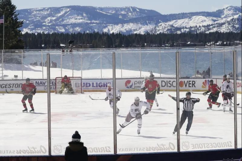 Golden Knights Fall to the Avs in Lake Tahoe