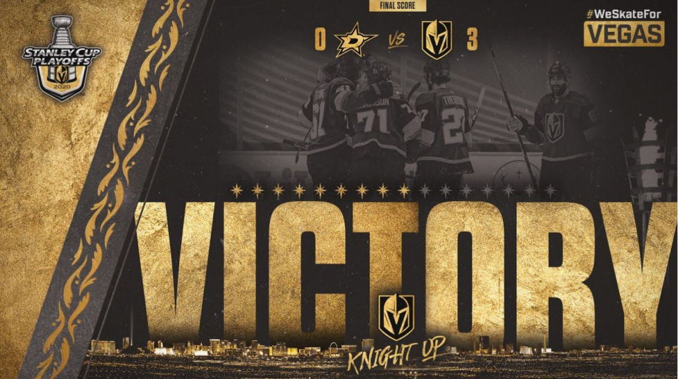 Golden Knights Rebound in Game 2 to Even Series at One