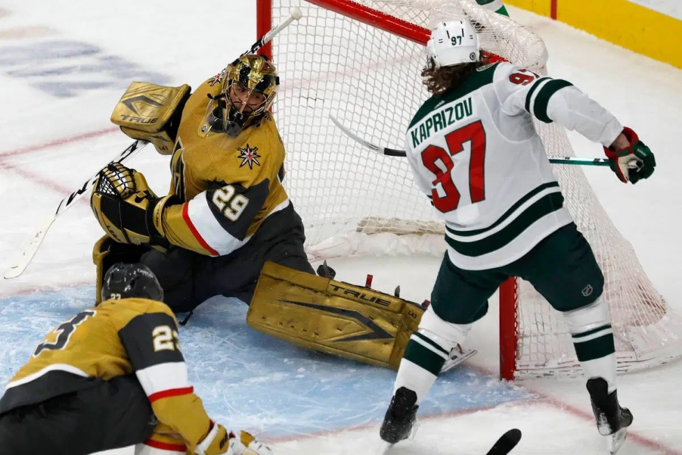 Golden Knights Struggling to Tame the Wild