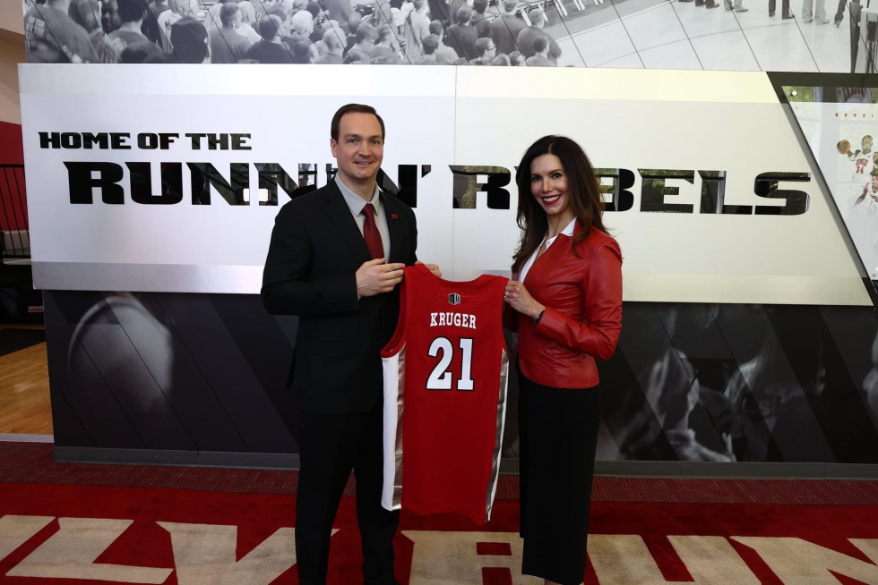 Kevin Kruger Steps Up to Become the Runnin' Rebels' New Head Coach