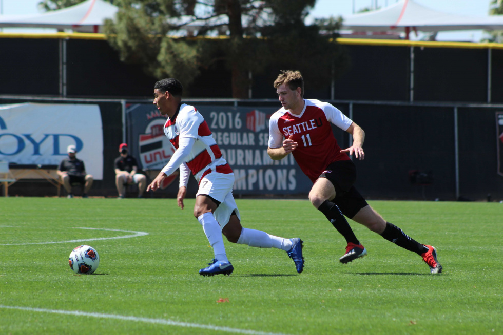 Rebels Fail to Keep Up with the Seattle Redhawks in Round 1 of WAC Tournament,…