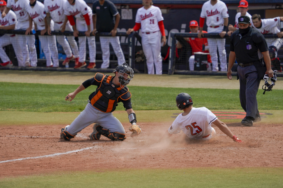 Rebels Hold On to Defeat the Pacific Tigers for Second Game in a Row