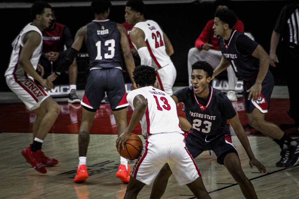 Runnin Rebels Fight to the Very End, Losing to Fresno State 64-67