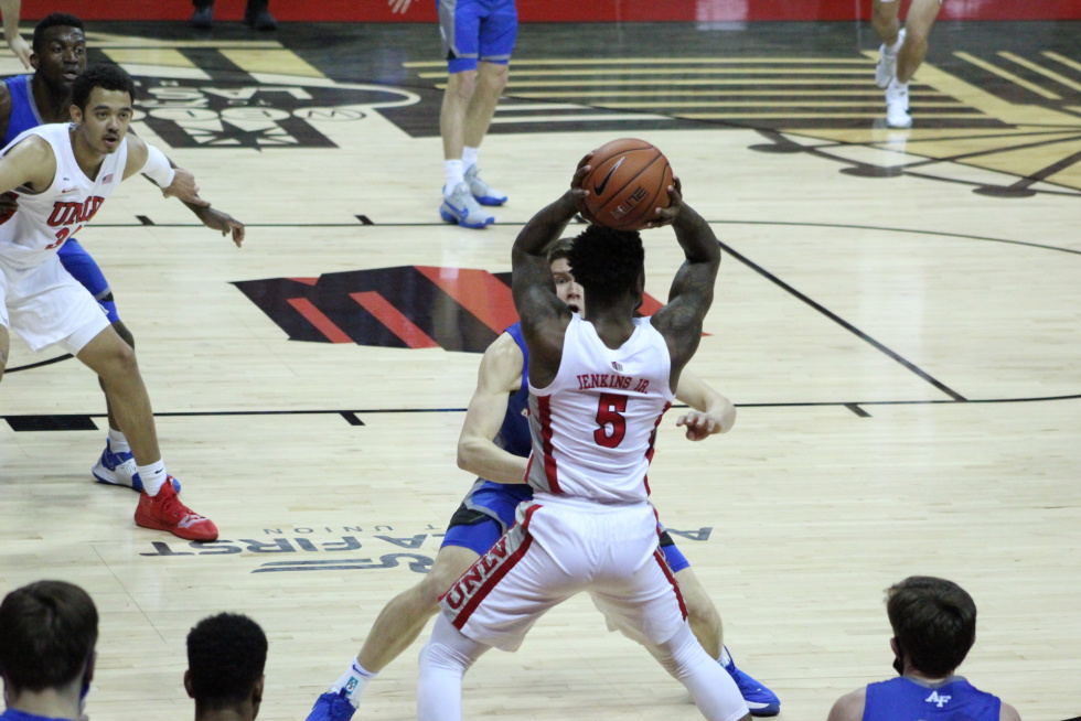 Runnin' Rebels Pull Through in the Second Half to Overcome Air Force Falcons 69-64