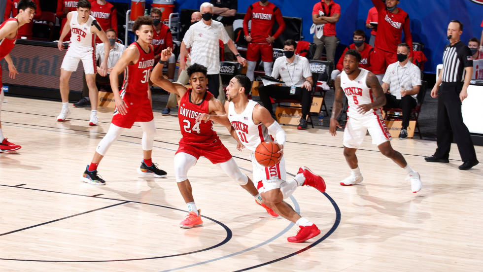 Runnin' Rebels Run Out of Time Against Davidson in Last Maui Invitational Game