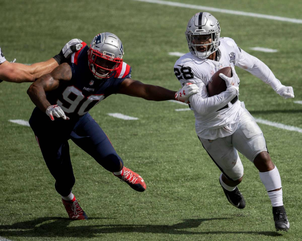 Shipping Out Of Boston; Raiders Face Reality Check In New England In 36-20 loss.