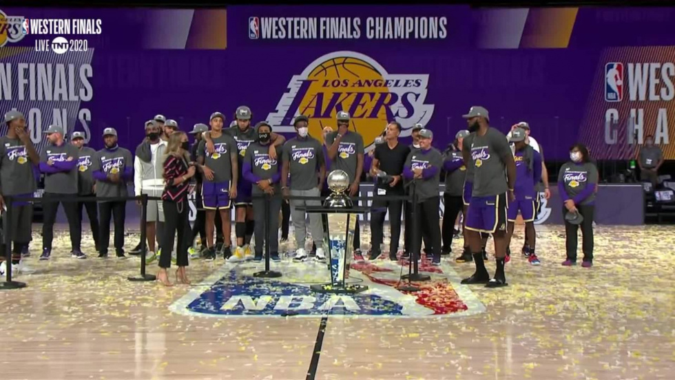 The Los Angeles Lakers make quick work of the Denver Nuggets, 4-1, as they move on to the NBA Finals