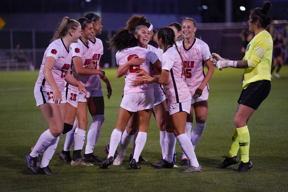 The UNLV Women's Soccer Team Outlast San Diego State in Overtime 3-2 on…