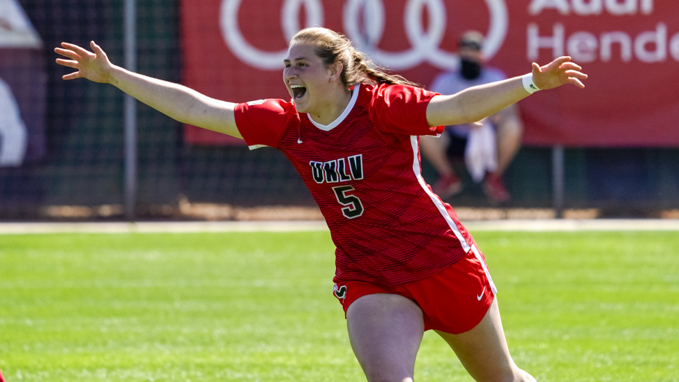 The UNLV Women's Soccer Team Outlasts Fresno State in a Physical Double Overtime 2-1