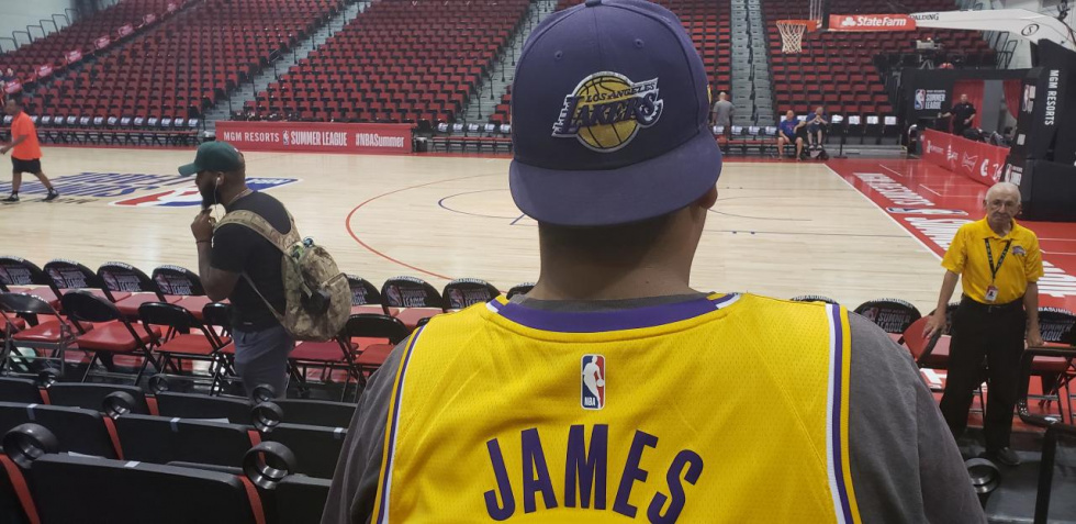 finest selection 41e2a 9b7cd The Vast Amount of Unique Jerseys at the NBA Summer League ...