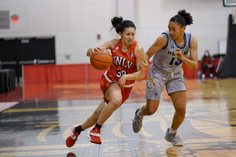 UNLV Lady Rebels Defeat UNR Wolfpack for First Game of the Silver State Series