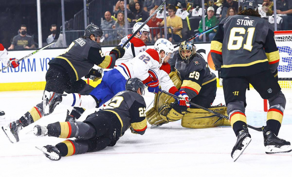 Vegas Golden Knights Take Game 1 Against the Montreal Canadiens in Semifinals…