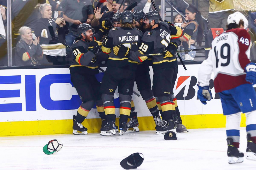 Vegas Golden Knights Tie Second Round Series with the Colorado Avalanche…