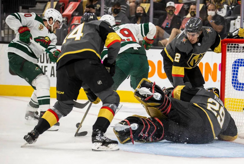 Wild Outlast Golden Knights in Overtime to Take Game One