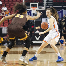 2019 Mountain West Basketball Championships: Boise State Broncos vs. Wyoming Cowgirls