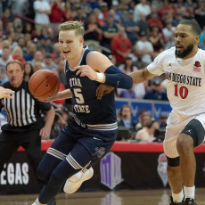 2020 Mountain West Tournament: Utah State Aggies vs. SDSU Aztecs